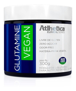Glutamine Vegan - 300 Gramas - Atlhetica