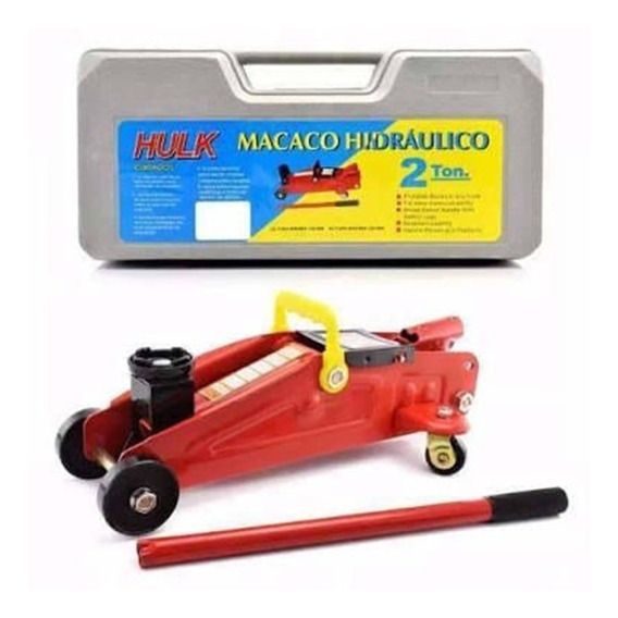 Mini Macaco Jacaré Hidraulico 2t C/ Maleta Jacarézinho Novo!