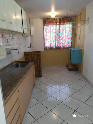 Apartamento Com 2 Dormitórios Para Alugar, 55 M² Por R$ 900,00/mês - Jardim Alvorada - Santo André/sp - Ap0564