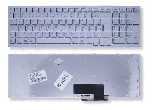 Imagem 1 de 5 de Teclado Para Notebook Sony Vaio Vpc-eh Pcg-71911x V116646fbr - Marca Bringit