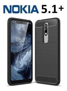 Funda Cover Flexible Elegante Nokia 5.1 Plus 5.1+ Rosario