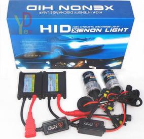 Kit Led Xenon Hid Light Luz Branco Puro Com Reator H1 H7