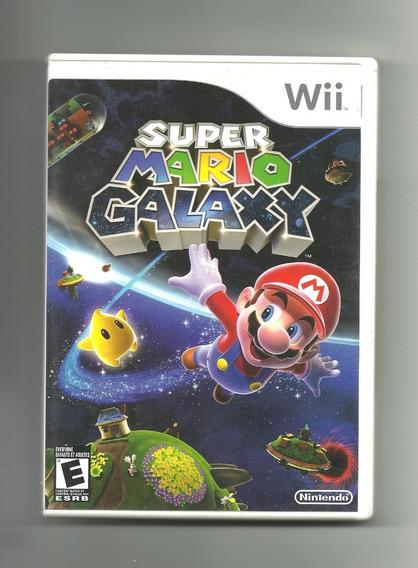 Jogo Original Super Mario Galaxy - Wii - Envio Imediato