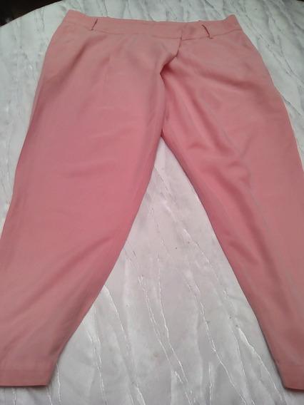 Pantalon Para Dama Marca Zara Basic. Talla L. Con Perlas