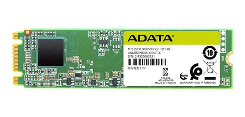Disco sólido interno Adata Ultimate SU650 ASU650NS38-120GT-C 120GB