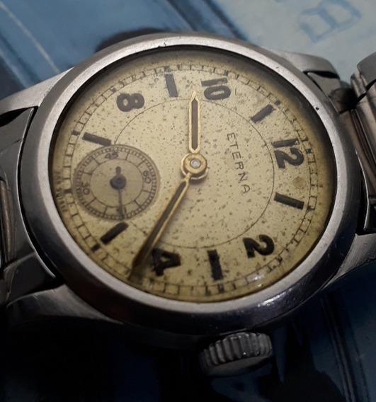 Relógio Eterna Corda Manual Para Coleção
