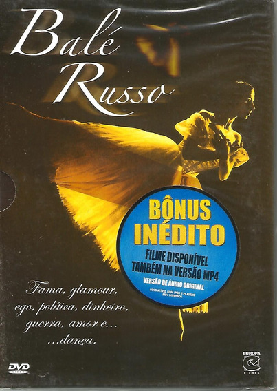 Dvd Balé Russo - Lacrado De Fabrica - Com Luva