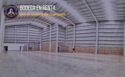 Bodega En Renta Por El Centro De Zapopan