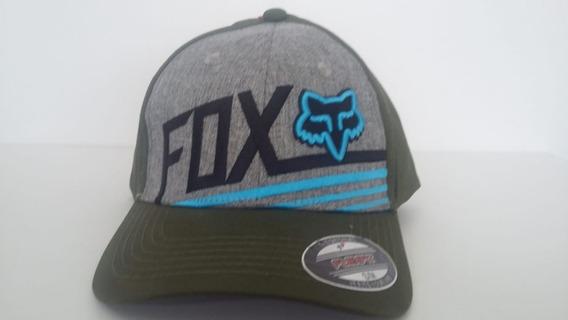 Gorra Fox Verde/gris S/m