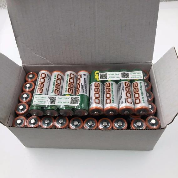 Kit 20 Baterias Recarregáveis Ni-mh 1,2 V 3600 Mahdura Mais