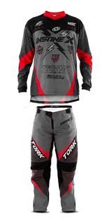 Calça E Camisa Roupa Trilha Motocross Pro Tork Insane X 2019