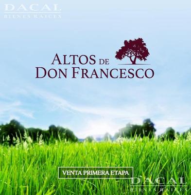 Lote En Venta La Plata Loteo Altos De Don Francesco Dacal Bienes Raices