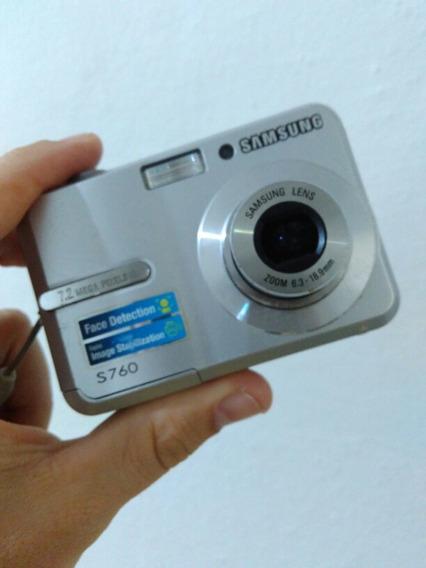 Camera Samsung 7.2mp Mod S760 Leia Anuncio Original