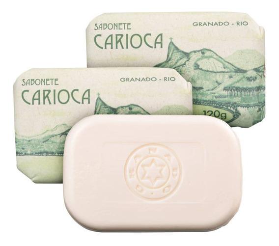 Kit Granado Carioca Banho - Sabonete Em Barra 3x120g Blz