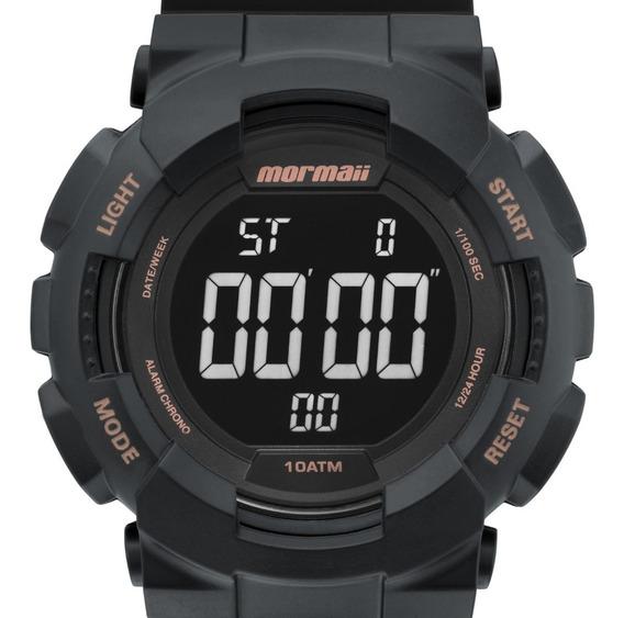 Relógio Mormaii Vibe Masculino Digital Preto Esportivo Surf