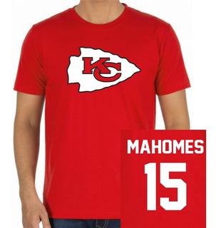 Playeras Nfl Chiefs Rams Mahomes Personaliza Nombre Y Numero