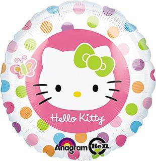 Hello Kitty 18 Pulgadas Con Balón