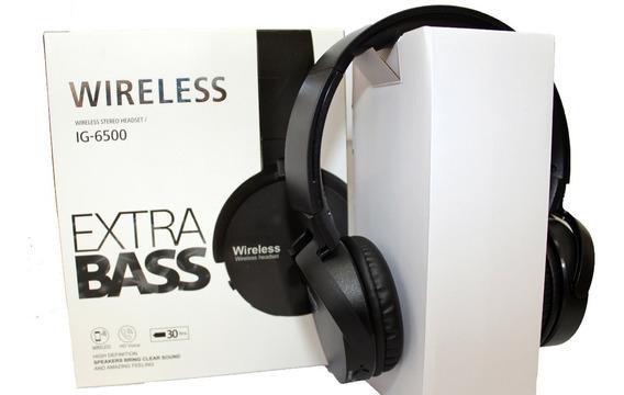 Fone De Ouvido Estéreo Sem Fio Extra Bass Bluetooth