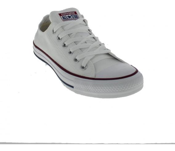 Tênis Unissex All Star Ct00010001 Tecido - Original White