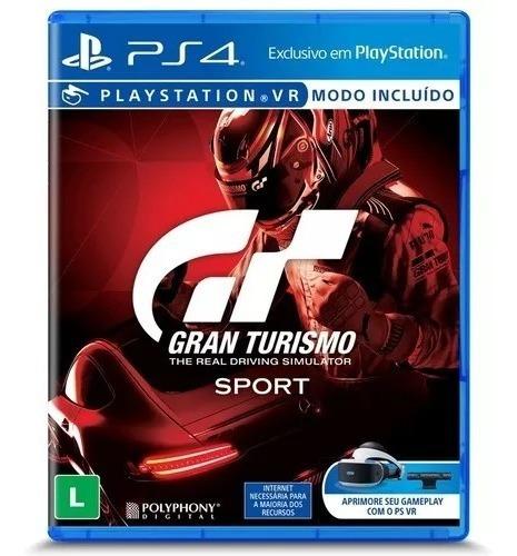Jogo Gran Turismo Sport Ps4 Física Original Frete Grátis