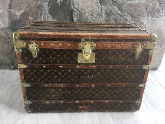 Baúl Louis Vuitton Vintage De Colección