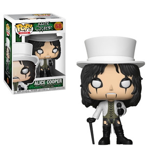 Funko Pop Alice Cooper Top Hat 68 Coleccionables