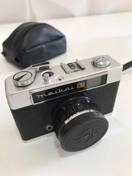 Câmera Fotográfica Analogica Meikai St 35mm + Flash Maxwell