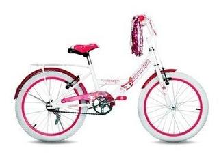 Bicicleta Infantil Topmega Princess Rodado 20 Feemebikes