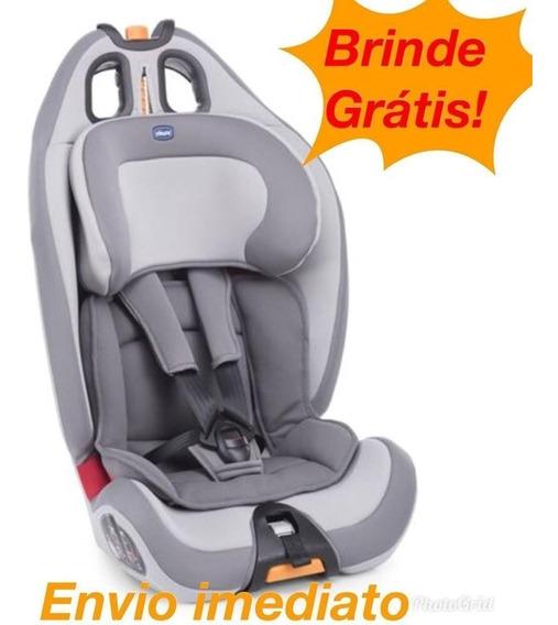 Cadeirinha Carro Bebê Gro Up Reclinável Chicco Cinza - 36 Kg