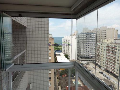 Imagem 1 de 27 de Apartamento Com 2 Dorms, Embaré, Santos - R$ 1.03 Mi, Cod: 64152860 - V64152860