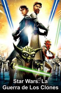 Star Wars Guerra De Los Clones Serie Completa Latino Usb