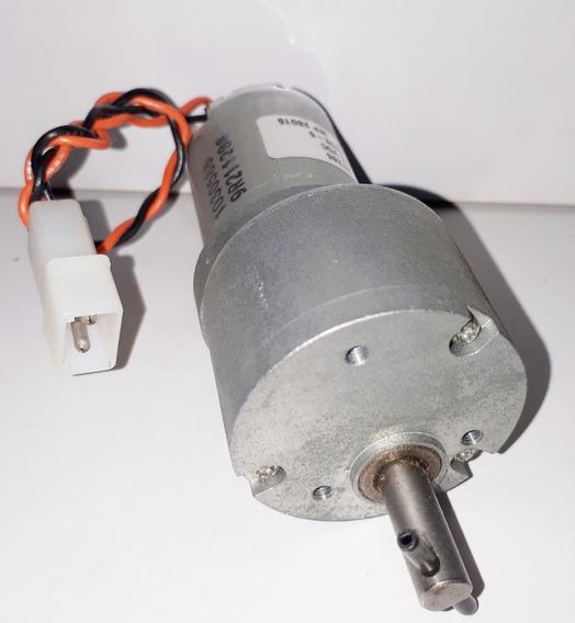 Micro Motor Dc C/ Cx Redução 24v 35rpm 5.5kgf.cm Novo!!