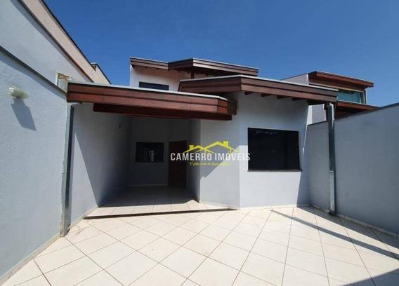 Casa Com 3 Dormitórios Para Alugar, 120 M² Por R$ 1.500,00/mês - Parque Nova Carioba - Americana/sp - Ca1992