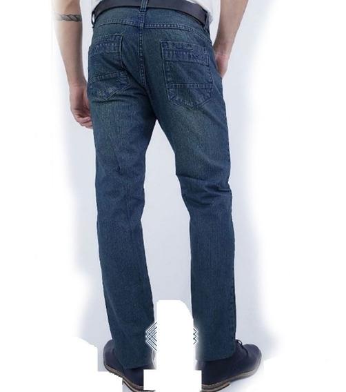 Jeans Rigidos Clasicos Rectos Calidad Premium