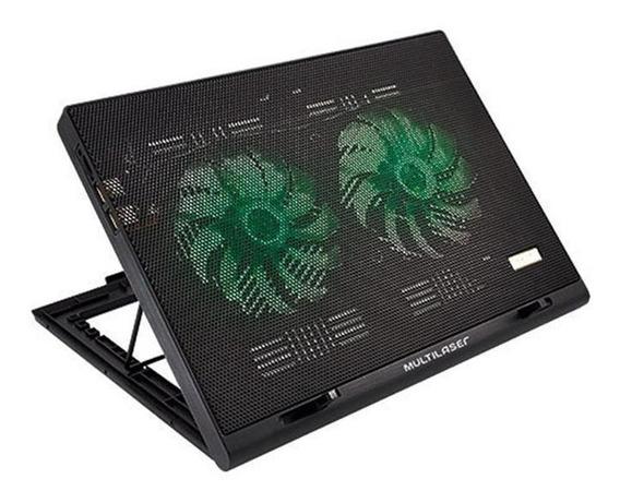 Cooler Para Notebook Warrior Power Gamer Led Ac267