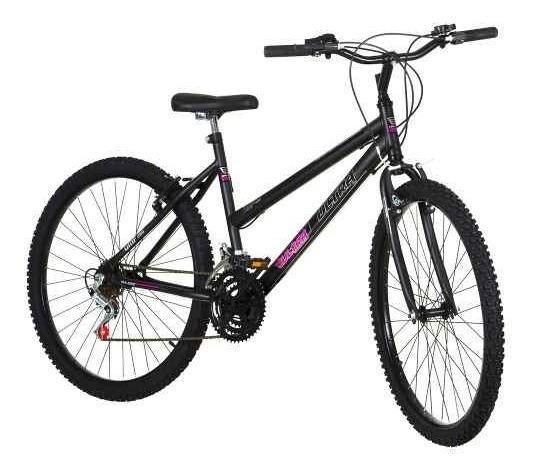 Bicicleta Aro 26 Pro Tork Ultra Freio V Break Preto Fosco