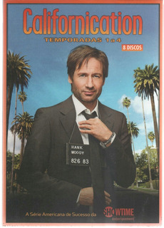 Californication - Temporadas De 1 A 4 - Box 8 Dvds - Lacrado