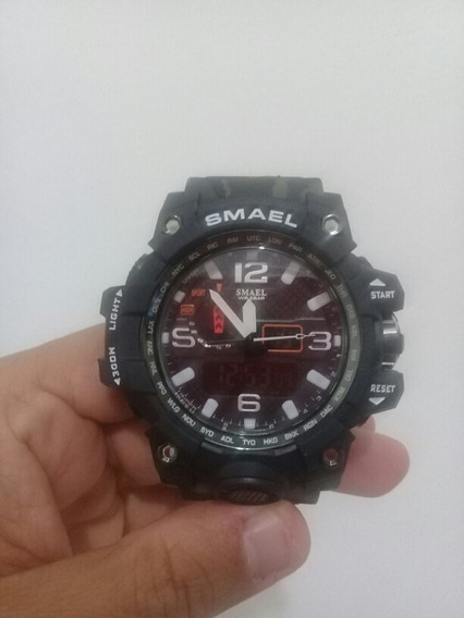 Relógio Masculino Smael 742 G-shock Analógico Digital Sport