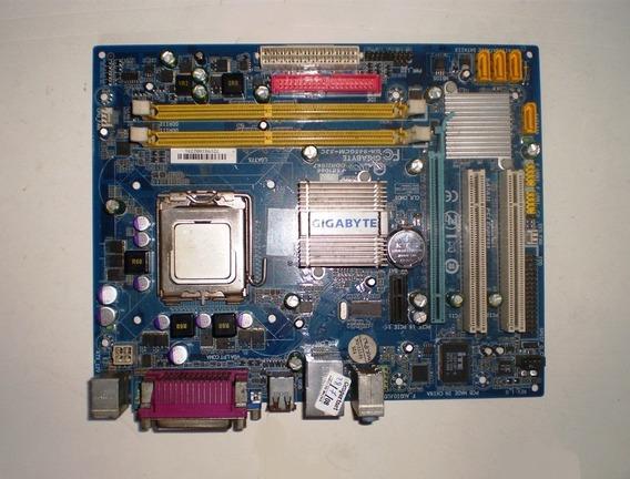 Placa Mãe Ga-945gcm-s2c + Espelho + Processador