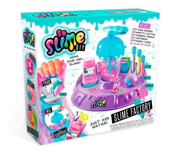 So Slime Diy Slime Factory Fábrica De Slime - Fun Divirta-se