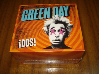 Box Green Day / Dos (nuevo Sellado) Cd + Polera Talla S M L