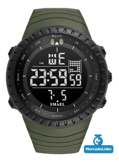 Relógio Smael 1237 Masculino Esportivo A Prova D