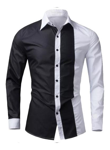 Camisa Caballero Slimfit #04 Denlinea