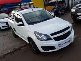Chevrolet Montana Sport 1.4 2013 Branco Flex