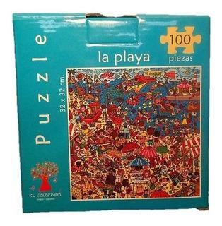 Puzzle 100 Piezas Playa