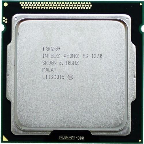 Intel Xeon E3 1270 V1 1155 4/8 - 3,8ghz + Pasta Térmica