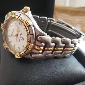 Relógio Bulova Marine Star 200m Analógico 100% Original Ouro