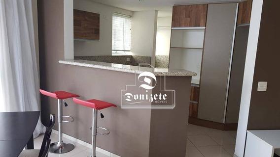 Apartamento Duplex Com 1 Dormitório À Venda, 86 M² Por R$ 535.000,01 - Jardim - Santo André/sp - Ad0064