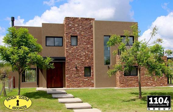 2589ro Casa En Venta Barrio Vistas Puertos Del Lago Estrenar