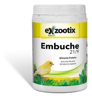 Pasta Embuche 21/9 Aves Pichones Canarios Exzootix 500gr